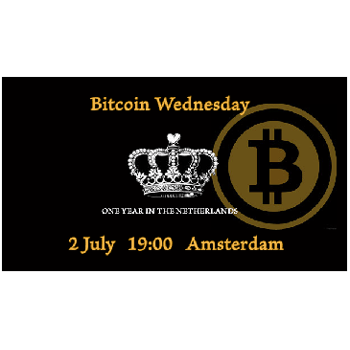 First Year Anniversary! Bitcoin Wednesday Amsterdam #13