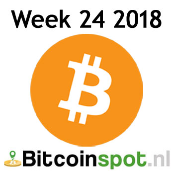 Week #24 in cryptocurrency: EOS launch, satoshis.place, AFM, coinrail-hack en meer.