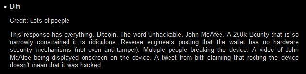 De omschrijving bij de pwnie wallet is niet mals.